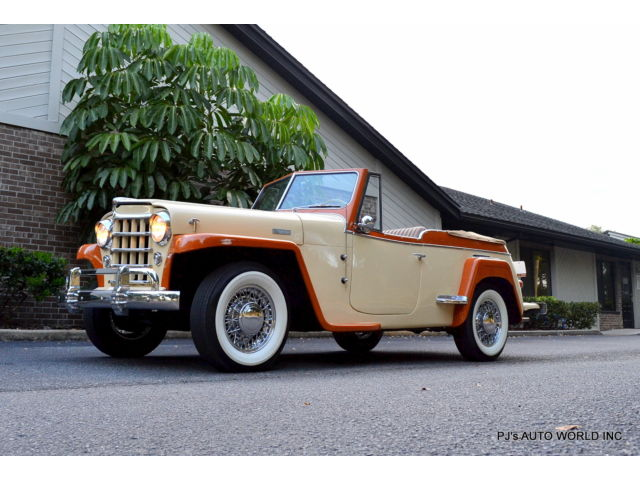 Willys COLLECTORS ANTIQUE OVERLAND JEEPSTER HURRICANE 134 F-HEAD 4 CYLINDER 3 SPEED
