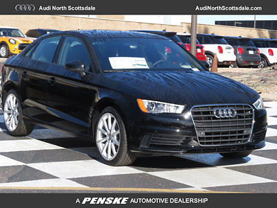 Audi : A3 Premium 1.8  4 Cylinder Turbo FWD New 2016 A3 1.8 Sport Leather Bluetooth Audio Sirius XM Pano Roof