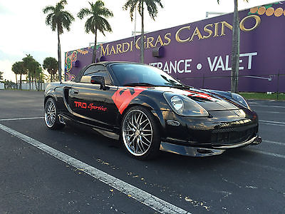 Toyota : MR2 2001 toyota mr 2 spyder manual convertible modded trd mr s