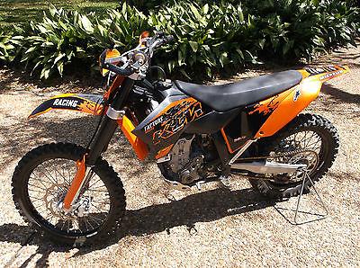 KTM : SX 2008 ktm sx 505 dirt bike