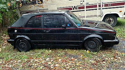 Volkswagen : Other 1989 volkswagen cabriolet convertible