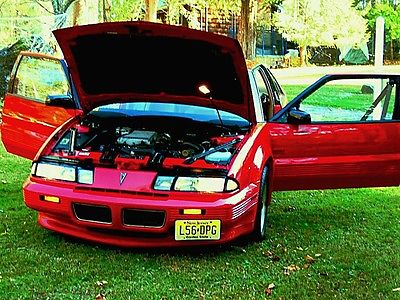 Pontiac : Grand Prix LE(Limited Edition) 1989 pontiac asc mclaren turbo grand prix rare