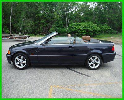 BMW : 3-Series salvage rebuildable repairable super easy damage 2003 bmw 325 ci 2.5 l convertible premium salvage