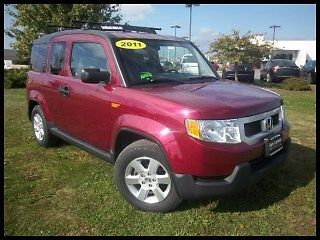 Honda : Element 4WD 5dr EX 11 honda element ex awd 4 wd clean carfax perfect service history call me today
