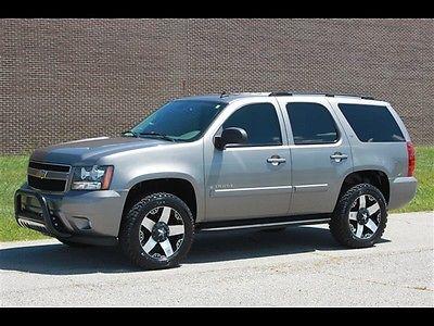 Chevrolet : Tahoe LT 4X4 2007 chevrolet tahoe lt 4 x 4 automatic 4 door suv