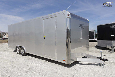 8.5X24 ATC ALUMINUM ENCLOSED CAR HAULER TRAILER