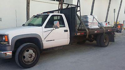 Chevrolet : C/K Pickup 3500 Flatbed 2002 chevrolet 3500 hd flatbed truck