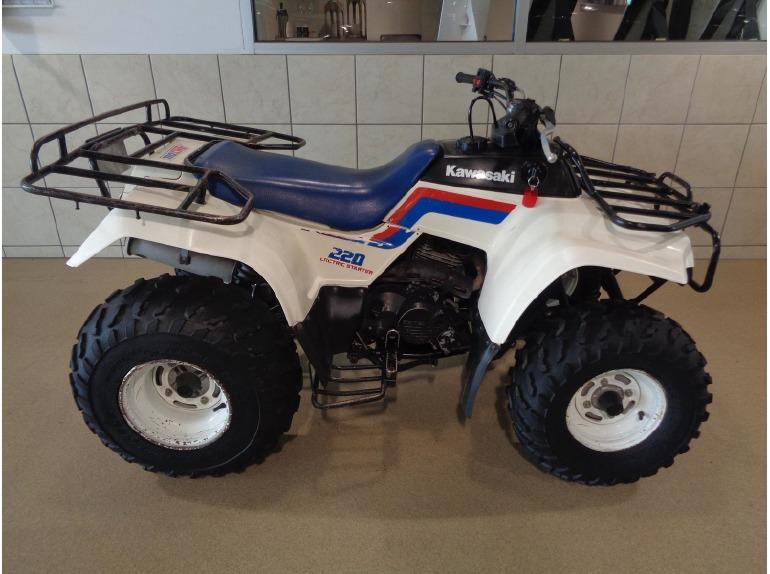 1988 kawasaki bayou 220 motorcycles for sale