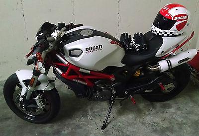 Ducati : Monster Head Turning 2013 Ducati Monster 796 White - You're Going to LOVE This Monster!