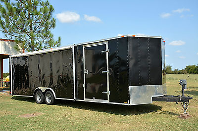 ENCLOSED CARGO TRAILER, USED VERY LITTLE!!