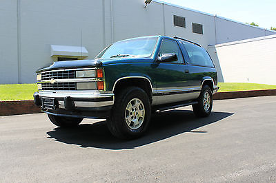 Chevrolet : Blazer 1993 CHEVY K5 BAZER 2-DR 4X4 ** RARE ** SUPER CLEAN INSIDE & OUT !! ** 1993 CHEVY K5 2-DOOR BLAZER **