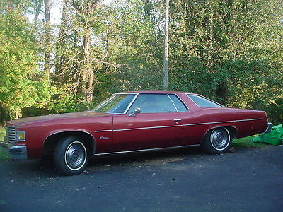 Pontiac : Catalina Base Coupe 2-Door 1976 pontiac catalina base coupe 2 door 6.6 l