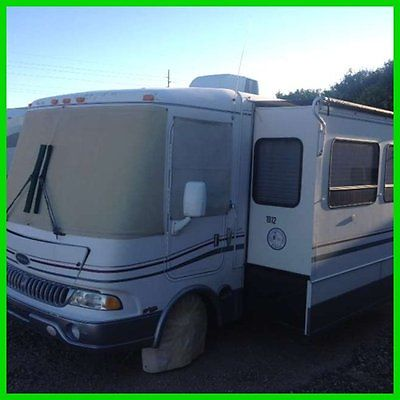 1999 Rexhall Rose Air 36' Class A Motorhome 2 Slide Outs Generator New Tires A/C