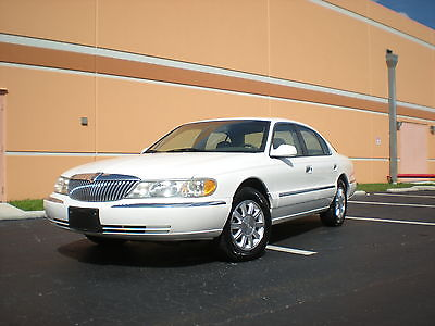Lincoln : Continental Premium  Sedan 4-Door 1999 lincoln continental base sedan 4 door 4.6 l