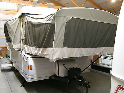 99 Coleman Bayside Pop Up Camper With Slideout