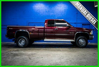 Dodge : Ram 3500 Ram 3500 SLT DUALLY 4x4 Cummins Diesel 2000 dodge ram 3500 dually slt 5.9 cummins diesel 4 x 4 manual qad cab truck