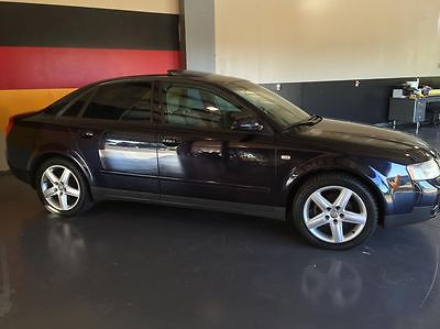 Audi : A4 4 door 2003 audi a 4 1.8 t 4 cylinder gas turbo