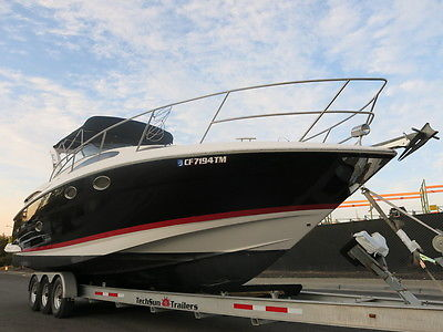 2008 Regal 3360 window express cruiser boat Low Hours Clean title damaged 08 !!
