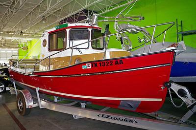 2015 Ranger Tugs 21EC 21'' Tug Boat, Cabin, Diesel Engine, Fully Loaded!