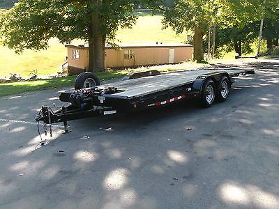 22' 10,000 GVW Tilt Car trailer