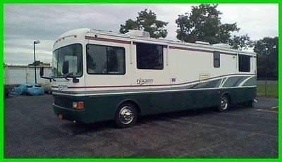 1998 Fleetwood Discovery 36' Class A RV Cummins Diesel Generator NEW YORK