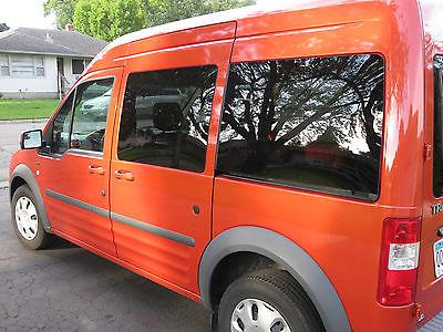 Ford : Transit Connect Camper Van 2013 camper van transit connect great gas mileage 24 28 mpg fits in garage