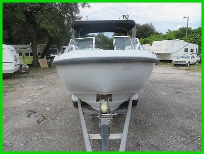 2001 Boston Whaler 21 Sentry w/ T-Top & Trailer Used