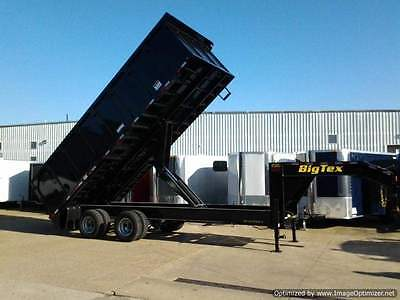New 25DU Big Tex 20' Dump Trailer ( 10 Ton ) GVW 2016 model