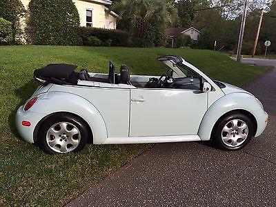 Volkswagen : Beetle-New GLS Convertible 2003 vw beetle convertible orginal owner super nice 71 000 miles