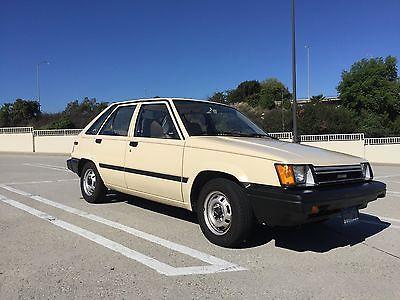 Toyota : Tercel STD Hatchback 5-Door 1983 toyota tercel std hatchback 5 door 1.5 l