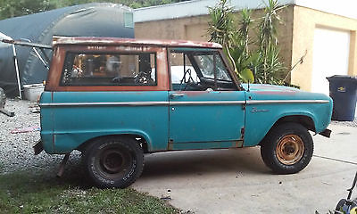 Ford : Bronco 1969 ford bronco 302 v 8 3 speed manual runs and drives