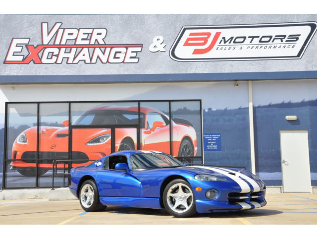 Dodge : Viper GTS 1996 dodge viper 3 k miles like new condition iconic viper gts