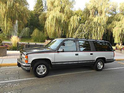 Chevrolet : Suburban 1993 chev gmc suburban