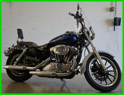 Harley-Davidson : Sportster Used 07 Harley-Davidson Sportster 1200 Low Added Accessories Passenger Ready