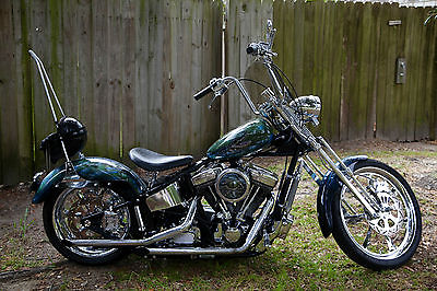 Custom Built Motorcycles : Chopper 2006 custom softail chopper motorcycle rev tech engine 100 ci 1442 ccs