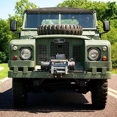 Land Rover : Other Land Rover Series llA 109 1968 land rover series lla 109 â smitty built 9 500 lbs winch with remote