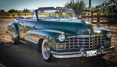 Cadillac : Other Cadillac Series 62 Convertible…8040 Miles 1947 cadillac series 62 convertible runs and drives great new running gear