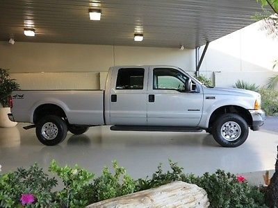 Ford : F-350 FreeShipping F-350 7.3L Diesel 4X4 Crew Cab Long Bed XLT Excellent Condition! 1 OWNER! CLEAN!