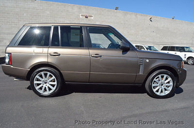 Land Rover : Range Rover 4WD 4dr SC 2012 range rover supercharged
