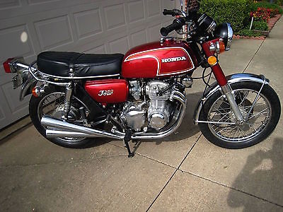 Honda : CB 1973 honda cb 350 f 8 188 orig miles all original excellent condition
