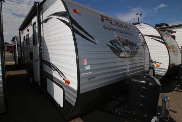 2014 Forest River Canyon Cat 17qbc Rvs For Sale