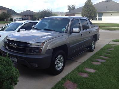 Chevrolet : Avalanche 1500 2002 chevrolet avalanche 1500 nice truck 117.000 mills