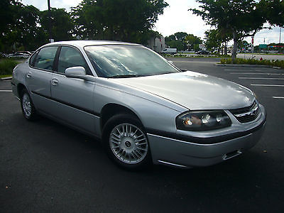 Chevrolet : Impala 4 Door Sport Touring Sedan One Owner Certified - Free Warranty - 47k Original Miles! - 100% Florida Owned!