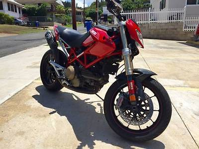 Ducati : Hypermotard 2008 ducati hypermotard 1100 s red excellent condition