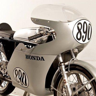Honda : CB 1966 honda cb 160 road racer van tech racing frame rare collector motorcycle