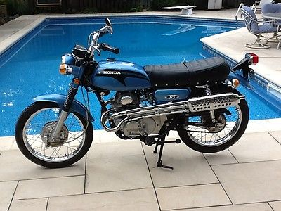 Honda : CL Near New Condition Barn Find! 1971 Honda CL175 CL 175 Scrambler 1,552 Miles.