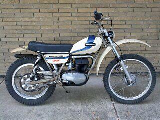Other Makes : Ossa 1975 ossa 250 explorer trials bike