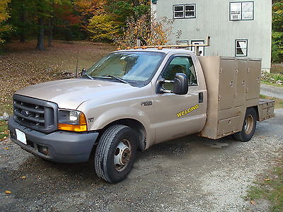 Ford : F-350 1999 ford f 350 turbo diesel fully loaded with tools lincoln diesel welding rig