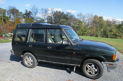 Land Rover : Discovery SD Sport Utility 4-Door 1996 land rover discovery sd green 4.0 liter v 8 4 x 4 suv