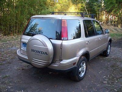 Honda : CR-V SE Sport Utility 4-Door 2001 honda crv se 4 x 4 gold exterior with black leather interior